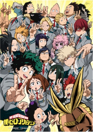 My Hero Academia is back at VIZ Media Europe