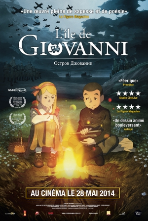 "GIOVANNI'S ISLAND WIN THE ""BeTV"" PRIZE AT FESTIVAL ANIMA 2015 AT BRUSSELS"