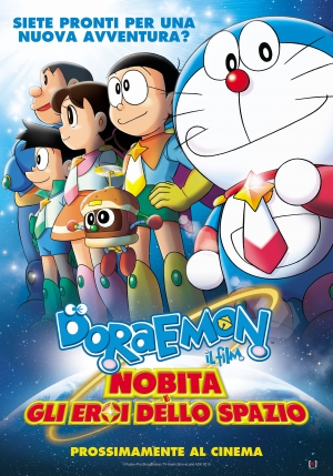New Doraemon theatrical release in Italy