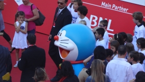 "Doraemon ""Stand By Me"" Premiere at Film Festival in Rome"